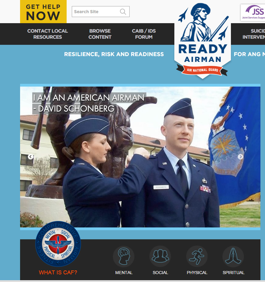ANG Ready Airman Web Development