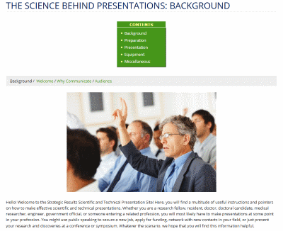 The Science Behind Presentations